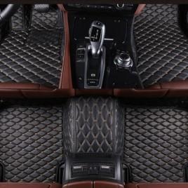 Коврики из кожи для Nissan Tiida С11 седан (2004+)