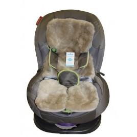 Накидка на детское кресло из овчины